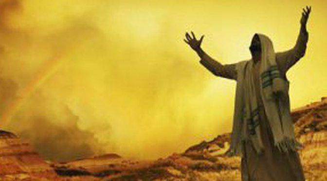 Messiah praying