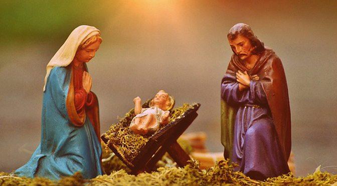 christmas crib figures for Christmas quiz